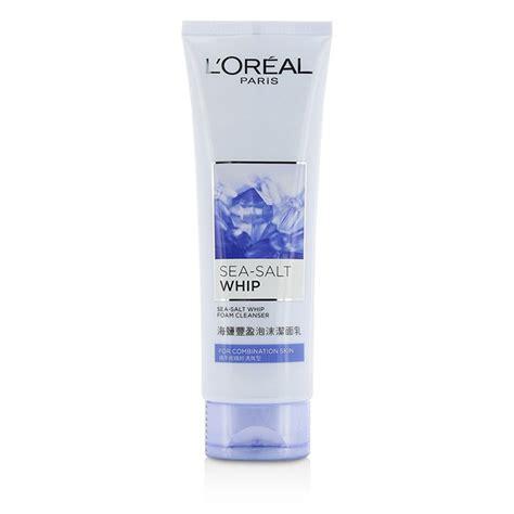 Foam L Oreal l oreal sea salt whip foam cleanser with bergamot extract