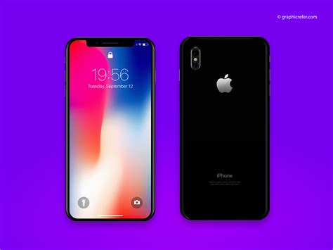 Free Realistic Iphone X Mockup Template Psd Graphicrefer Iphone X Mockup Template