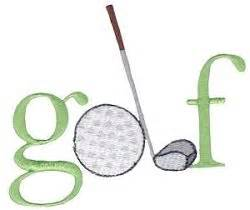 embroidery design golf 1000 images about golf machine embroidery on pinterest