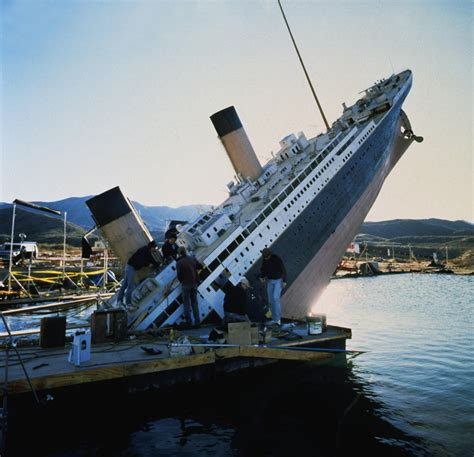 pictures of the titanic making of titanic titanic 3d