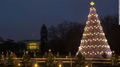 visiting national christmas tree at night a white house tour