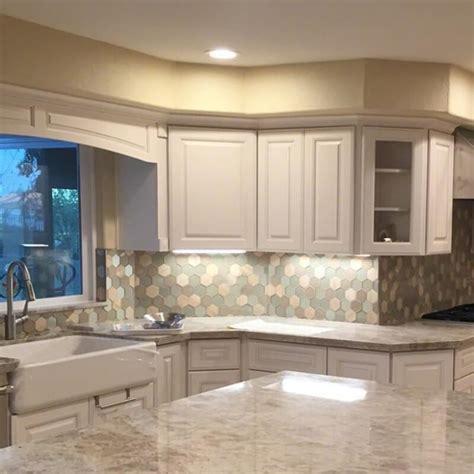mosaic monday glass backsplash tile inspirations