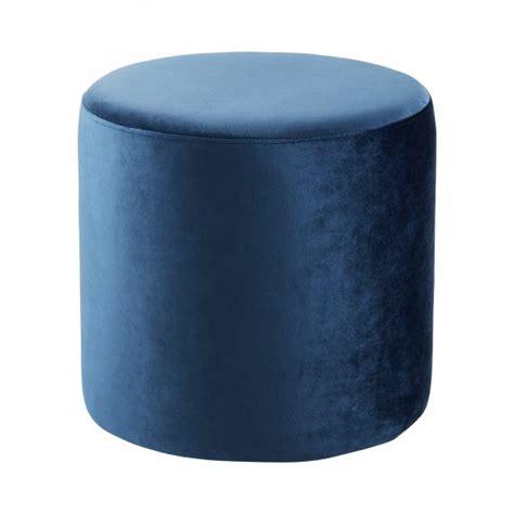 round blue ottoman ottoman round blue hire society