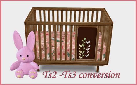 baby crib conversion  silwermoon liquid sims