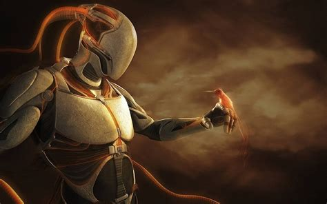 cool robot wallpaper robot full hd wallpaper and background 1920x1200 id 232436