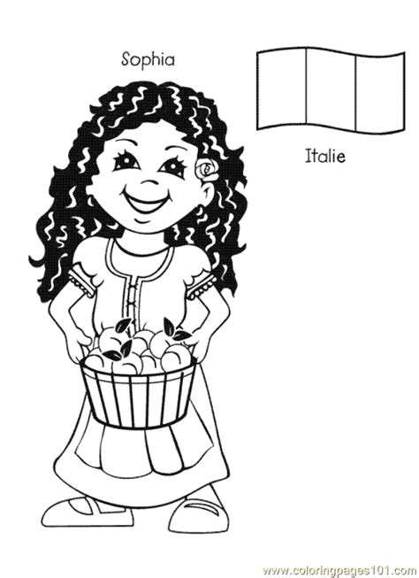 coloring pages of places around the world free printable coloring page kids from around the world