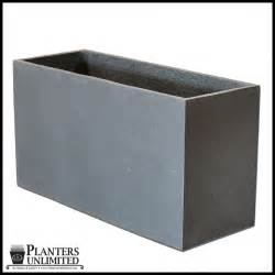 Rectangular Planter Large Commercial Rectangular Planters Planters Unlimited