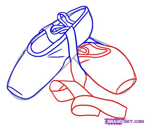how to draw ballet slippers how to draw ballet shoes step by step stuff pop culture