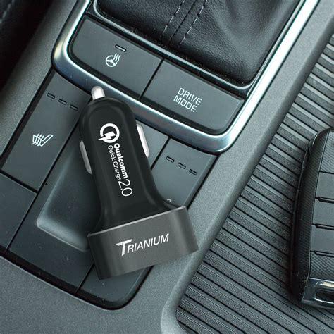 Charge 2 0 Car Charger charge 2 0 car charger trianium 36w dual usb output