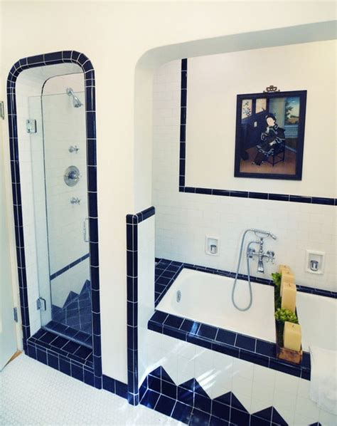 navy blue bathroom tiles 40 navy blue bathroom tiles ideas and pictures
