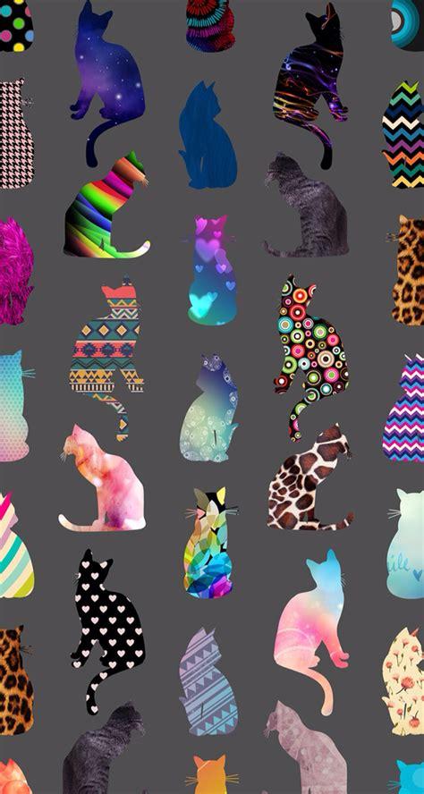 Colorful Cat Wallpaper | colorful cat wallpaper beauty of wallpaper pinterest