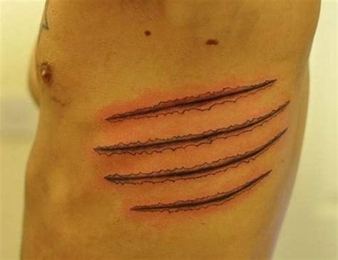 tiger scratch tattoo designs best 25 scratch ideas on tiger claw
