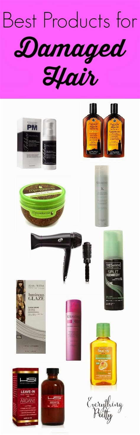 12 Best Shoos For Damaged Hair by The Best Hair Products For Damaged Hair 2013 Diy Avocado