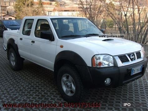 nissan trucks 2005 2005 nissan pick up pick up 2 5 td 4p double cab car