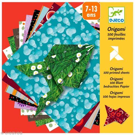 djeco petits cadeaux origami 100 papiers imprim 233 s