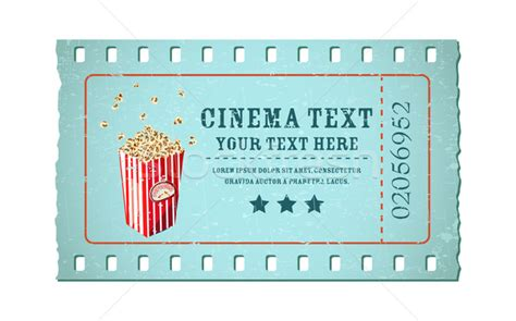 cinema ticket template word image gallery ticket template editable