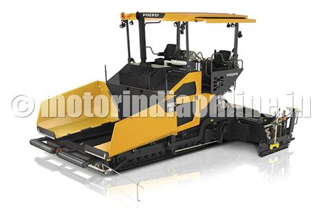 volvo ce launches   abg tracked paver