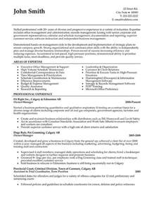 Exle Resume Construction Company Owner Business Owner Resume Sle Jennywashere