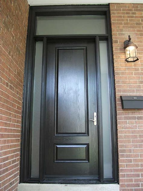 Fiberglass Doors Toronto 187 Executive Fiberglass Doors Single Exterior Door