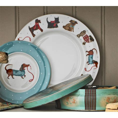 dogs diner hound dinner plate by ulster weavers notonthehighstreet