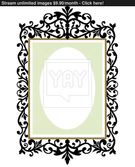frames vector free image gallery ornate frame vector