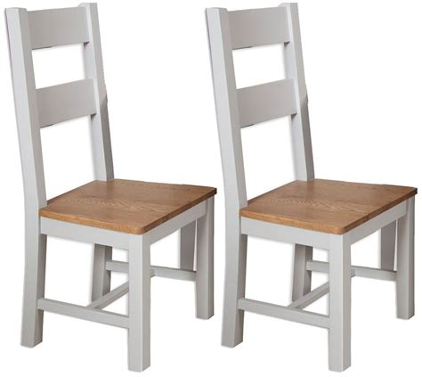 Perth Dining Chairs Buy Perth Grey Dining Chair Pair Cfs Uk