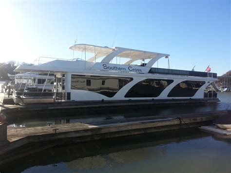 house boats for sale in ky 2013 used stardust cruisers 18 x 85 houseboat house boat for sale 419 900