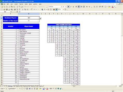 excel bracket template 6 team basketball bracket template search results
