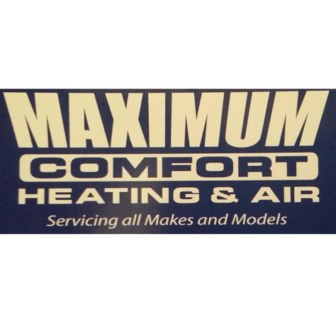 comfort plus heating and air conditioning maximum heating air llc huntsville alabama al
