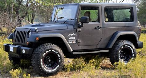 mahindra jeep thar modified mahindra thar modified to look like a jeep wrangler suv