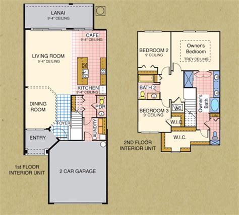 vizcaya floor plan vizcaya townhomes in jacksonville florida