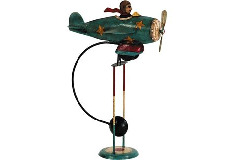 Authentic Decor Flying Ace Sky Hook Balance Toy