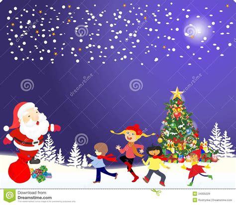 imagenes de santa claus y la navidad decoraci 243 n de la navidad del 225 rbol de navidad y de santa