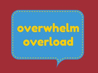 Overwhelm And How To Get Over It Learn With Ginny - joyful mind blog joyful mind