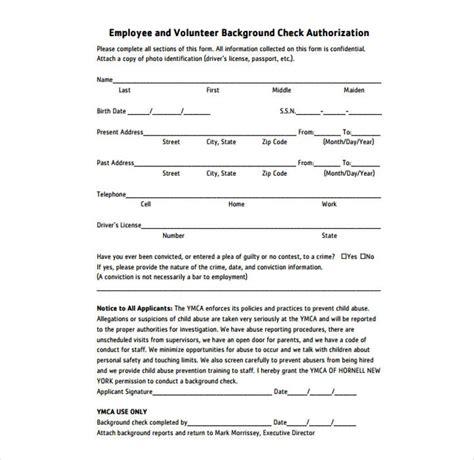 employer background check employment background check forms employer criminal