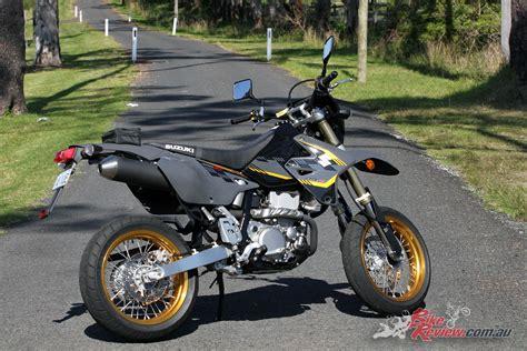 Suzuki Drz 400 Review 2017 Suzuki Dr Z400sm Review Bike Review
