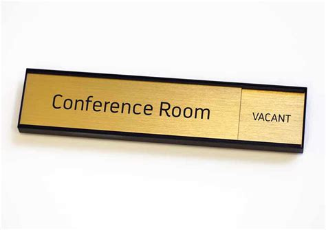 conference room signs conference room slider signs in use sliding office signs