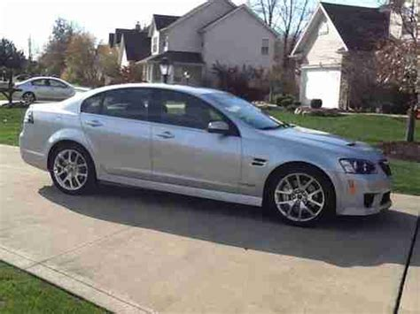 pontiac g8 gas mileage find used 2009 silver pontiac g8 gxp sedan 4 door 6 2l in