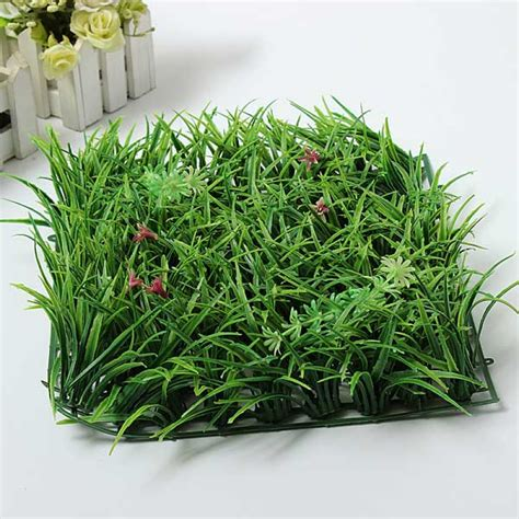 Plastic Grass Decoration by Buy Artificial Green Grass Plastic Lawn Garden Decoration