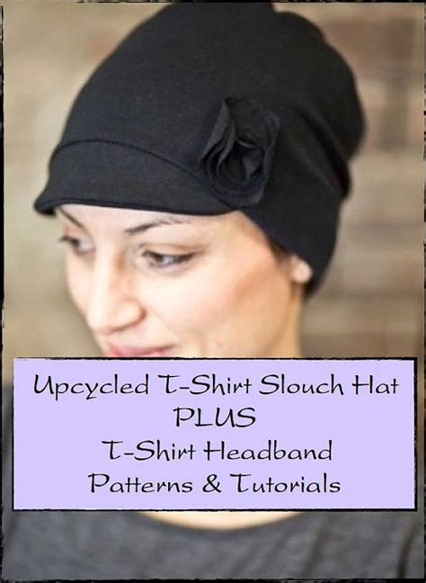 t shirt headband pattern pdf sewing pattern for upcycled recycled repurposed t