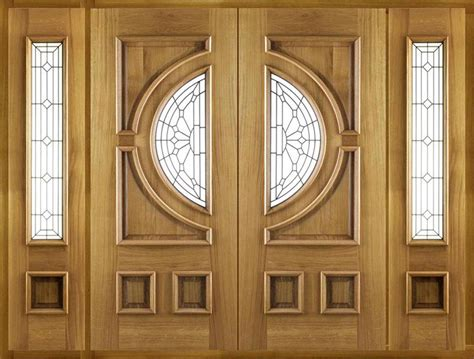 Wood Front Door With Sidelights Entry Doors With Sidelights Jeldwen