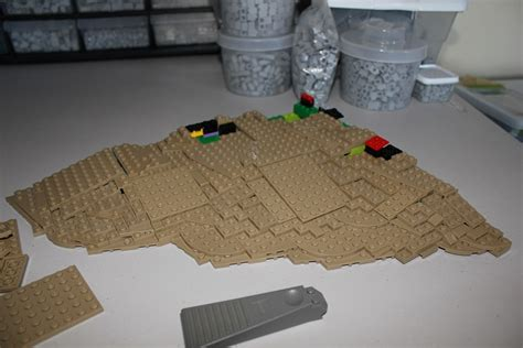 lego base tutorial tilted plate landscape tutorial innovalug lego users group