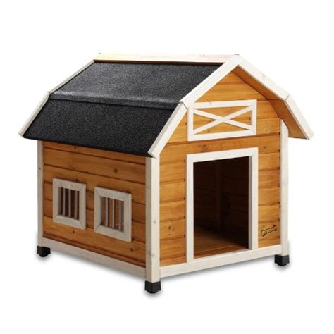 barn dog house pet squeak the barn dog house medium doggie house depot