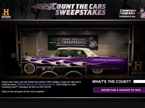 Cars 3 Sweepstakes - counting count s cars sweepstakes