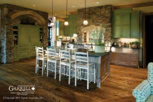 houseplan with front kitchen amicalola cottage rustic style house plan