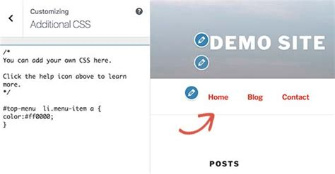 change font color css how to style navigation menus updated