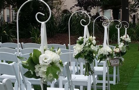 Wedding Aisle Shepherd Hooks by Wedding Ideas Outdoor Wedding Ceremonies In