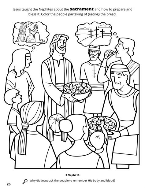lds coloring page christmas lds nephites christmas coloring pages lds best free