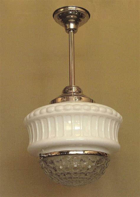 1920s Light Fixtures Large Vintage Schoolhouse Fixture Circa 1920s At 1stdibs