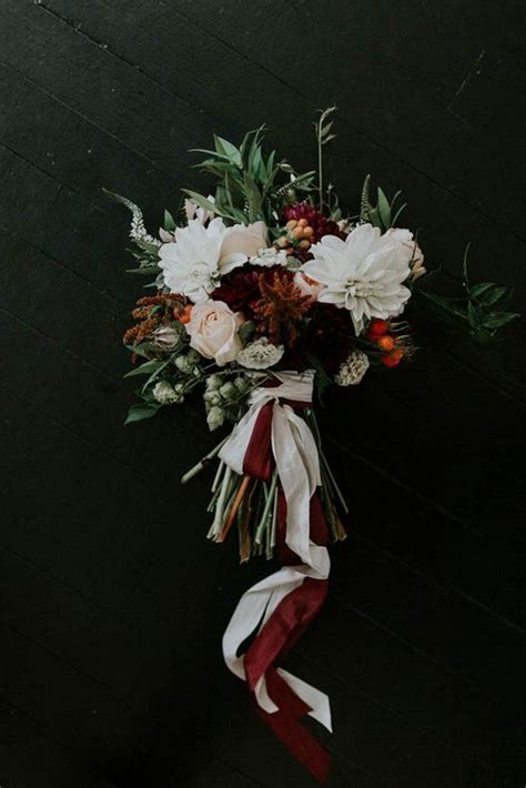 Top 25 Moody Wedding Bouquets for 2018 Trends   Page 2 of 3   Oh Best Day Ever